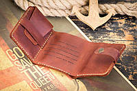 Мужской кожаный кошелек бумажник Уолтера Митти