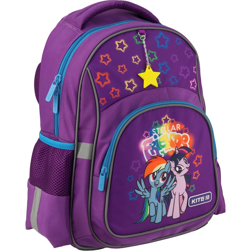 a6283d803c4a Рюкзак школьный Kite Education для девочек My Little Pony Фиолетовый  37,5х29х13 см 13,