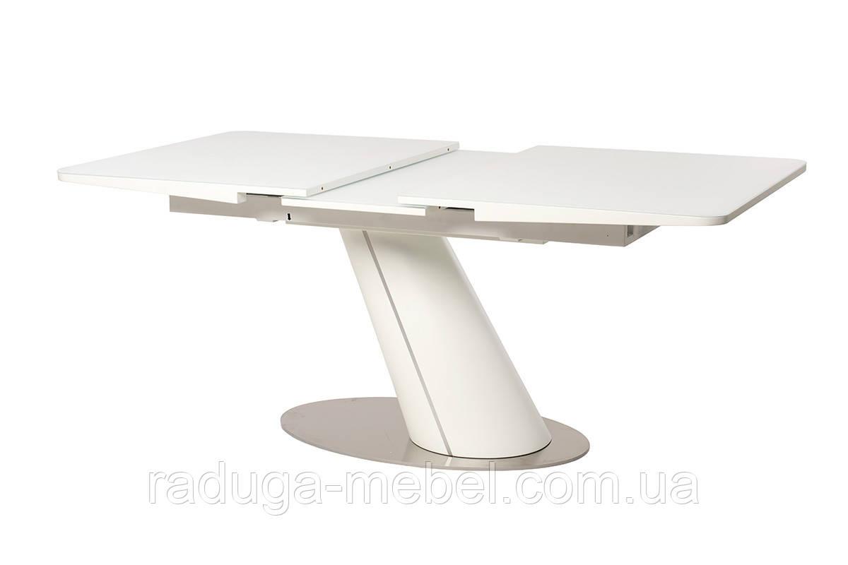 Стол кухонный обеденный белый матовый TМL-541-1
