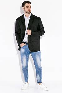Пиджак мужской в стиле Casual 19PL175 (Черный)