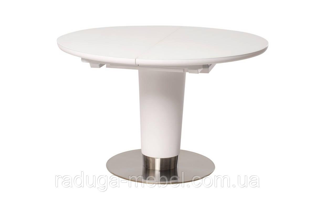 Стол кухонный обеденный белый TМL-518