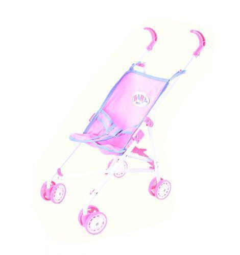 Коляска-тросточка (розовая) 9302W-BB