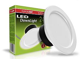 Новинки светильников EUROLAMP LED Downlights