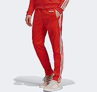Спортивные штаны Adidas Adicolor Scarlett Red  (эластика)  РАЗМЕР ХЛ