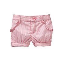 Детские шорты для девочки Мелкая полосочка Jumping Beans