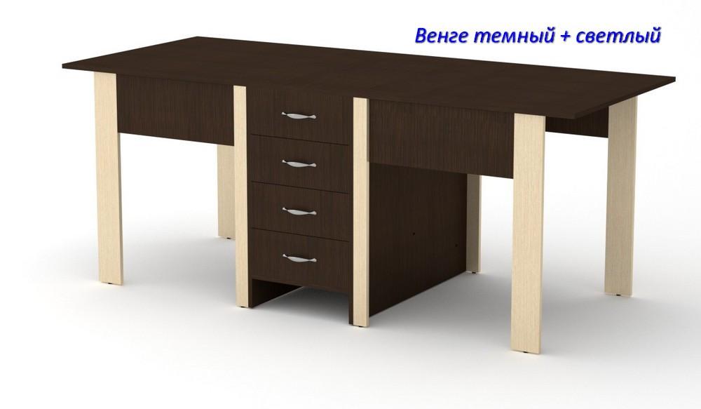 Раскладной с ящиками стол-книжка - 3