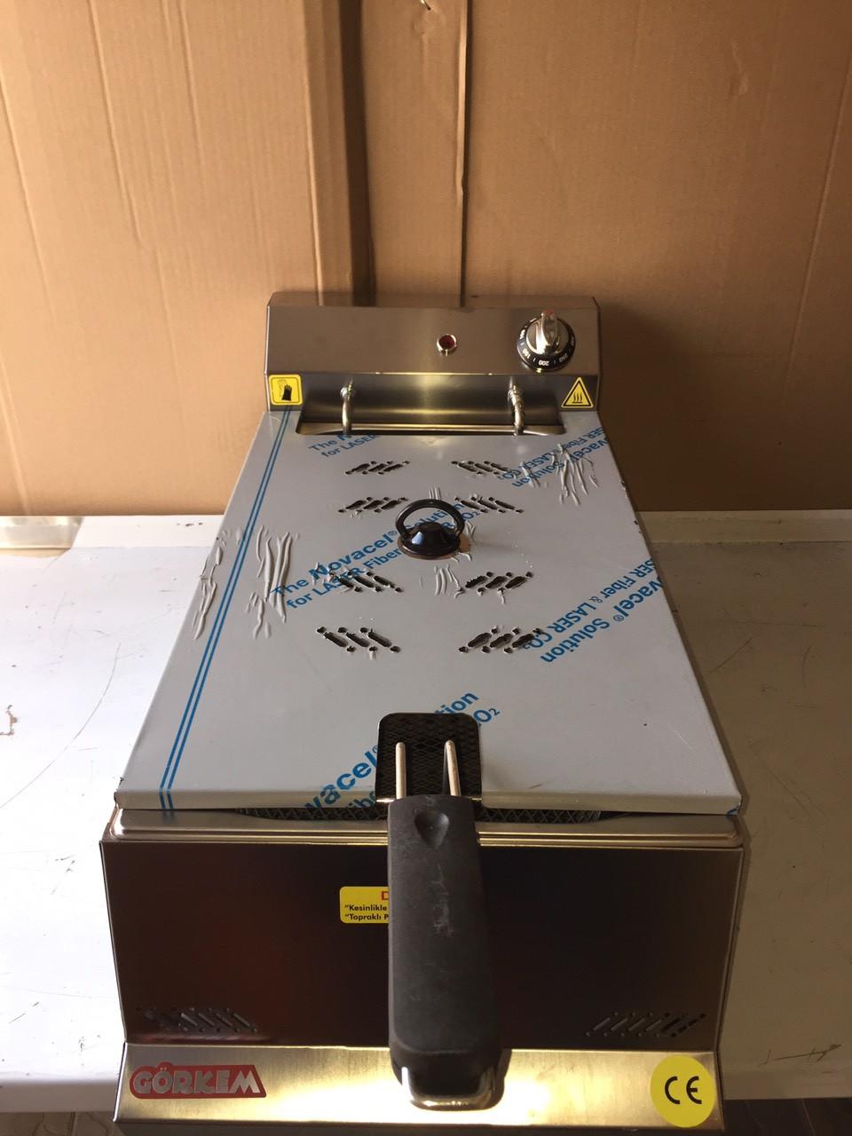 Görkem: Фритюрница электрическая фритюр Görkem FE 10 (10 литров)