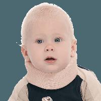 Бандаж для шейного отдела позвоночника для новорожденных 3,5см тм Тривес TV000