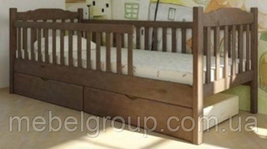 Ліжко Юніор з 1 бортиком 90х200 см, фото 2