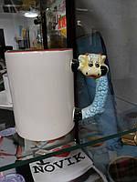 Детская чашка с фотографией (ручка в виде зверушки)