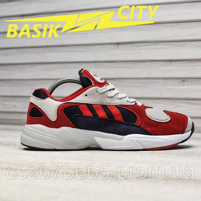 Мужские кроссовки Adidas Yung Red New фото описания 1