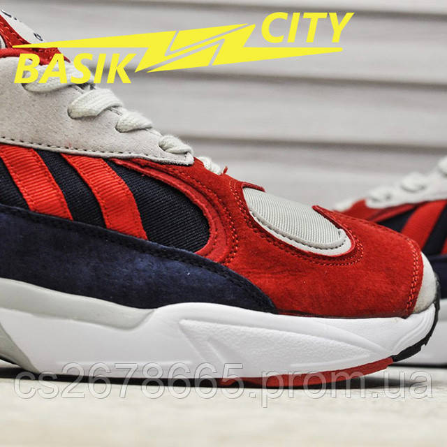 Мужские кроссовки Adidas Yung Red New фото описания 5