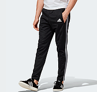Мужские летние спортивные штаны Adidas Adicolor  Black  (Адидас)