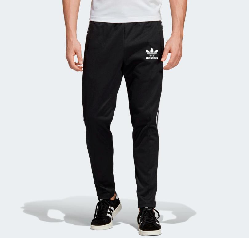 Демисезонные спортивные штаны для тренировок Adidas Adicolor  Black