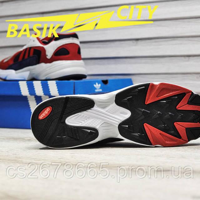Мужские кроссовки Adidas Yung Red New фото описания 7