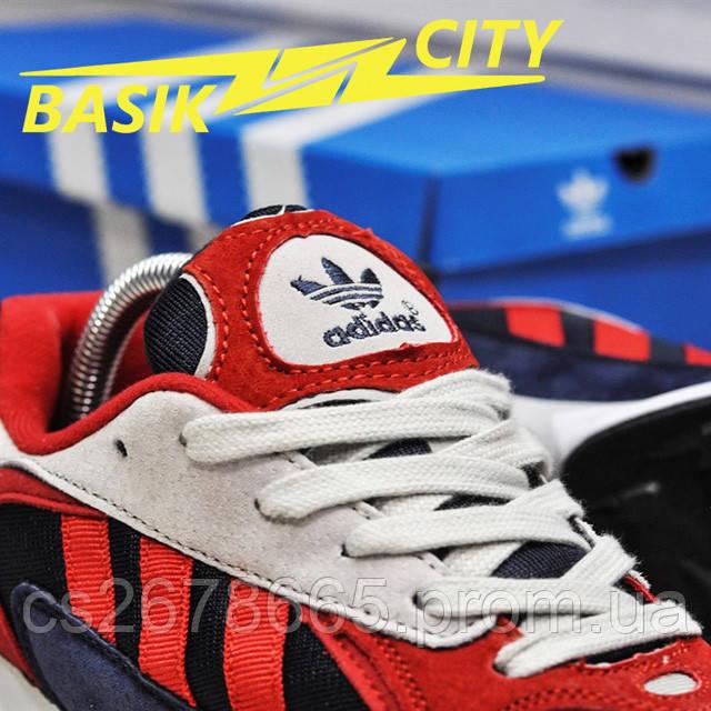 Мужские кроссовки Adidas Yung Red New фото описания 9