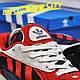 Мужские кроссовки Adidas Yung Red New, фото 2