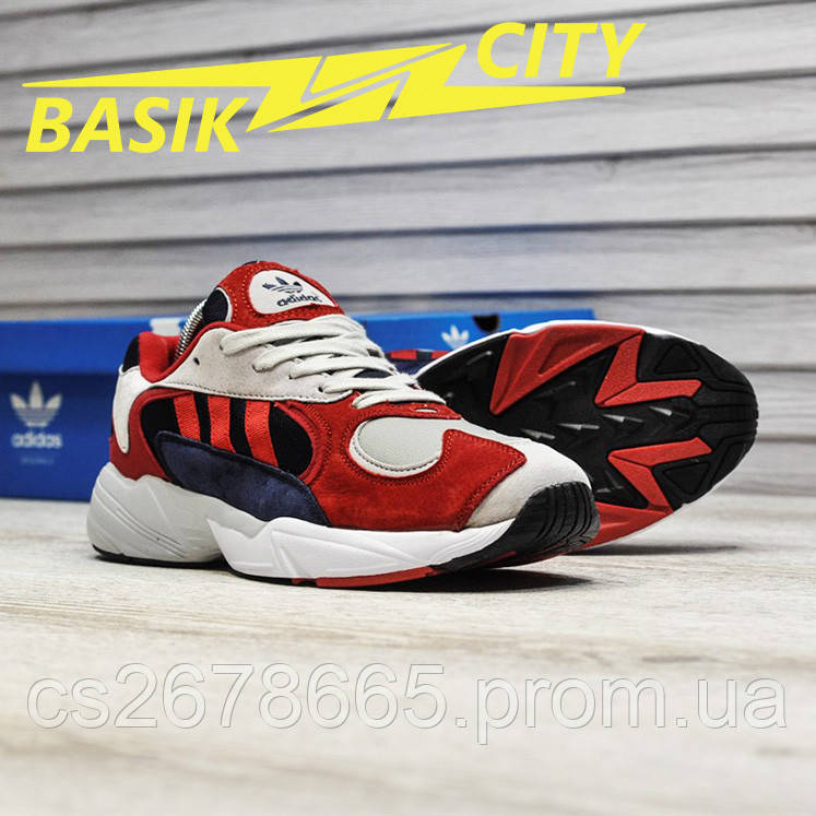 Мужские кроссовки Adidas Yung Red New