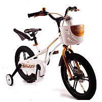 Детский Велосипед 16-GALAXY  Магниевая рама (Magnesium) Белый