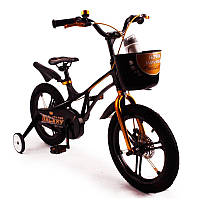 Детский Велосипед 16-GALAXY  Магниевая рама (Magnesium) черный
