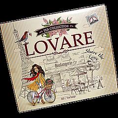 Чай LOVARE ассорти, подарочный 60 пакетиков 12*5шт 11шт/ящ