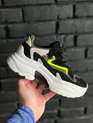 "Женские кроссовки ASH Addict Sneakers Black ""Black/Green"" (В стиле Аш)"