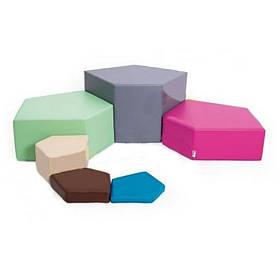 Детский набор Камушки мягкие  модули для игры