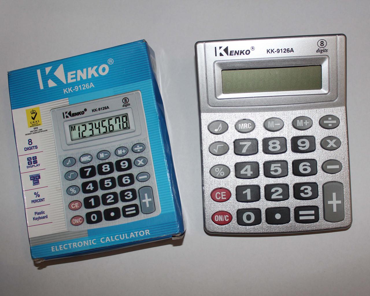 Калькулятор KK-9126A  размер:15х11,5