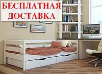 Кровать детская из бука Нота Эстелла (кровать подростковая)