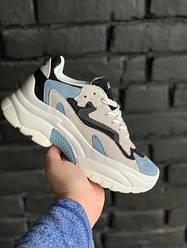 """Женские кроссовки ASH Addict Sneakers  """"Blue"""" (В стиле Аш)"""