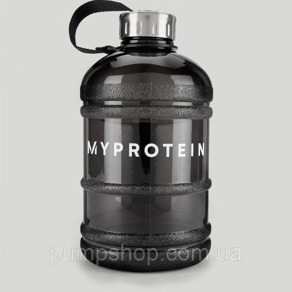 Бутылка питьевая MyProtein 1.9 л черная
