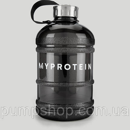 Бутылка питьевая MyProtein 1.9 л черная, фото 2