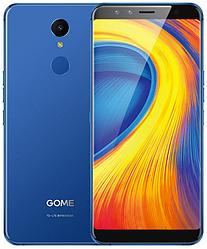 "Gome U7 blue 4/64 Gb, 5.99"", Helio P25, 3G, 4G"