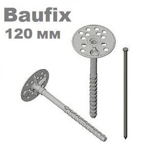 Дюбель 10х120 для крепления теплоизоляции с металлическим гвоздем FAST FIX