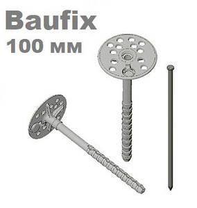 Дюбель 10х110 для крепления теплоизоляции с металлическим гвоздем FAST FIX