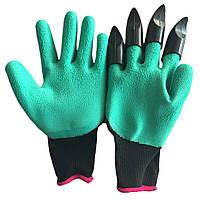 Садовые перчатки c когтями Garden Genie Gloves   Джени Гловес