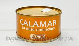 Консервы кальмары в остром соусе en salsa americana 80 г (Испания)