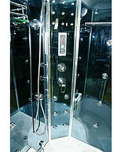 Гидромассажный бокс  90х90 Santeh 4404-07 (стекло Assol), фото 3