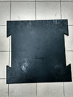 Резиновая плитка резины с креплением «Ласточкин хвост».