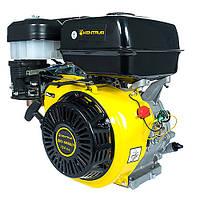 Бензиновий двигун Кентавр ДВЗ-390Б (13,0 л. с., ручний старт, шпонка Ø25.4мм, L=72,2 мм)