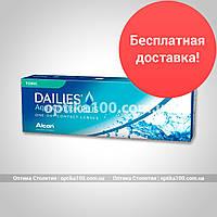 Контактні лінзи Dailies Aqua Comfort Plus Toric. 30 шт. упаковка