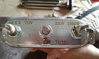 Тэн FER TUV 1950W (без отверстия под датчик) 235 мм , фото 1