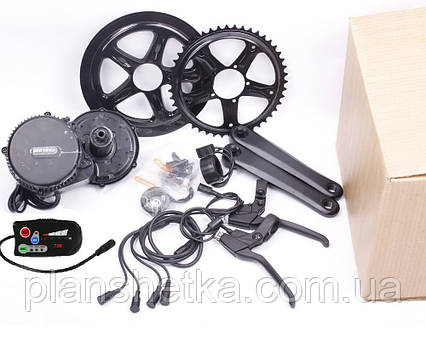 Электромотор Bafang BBS01 36V 500W дисплей C 500 электрический комплект для велосипедов, фото 2