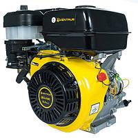 Бензиновый двигатель на мотобло Кентавр ДВЗ-420Б (15,0 л.с., ручной старт, шпонка Ø25,4мм, L=72.2мм)