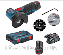 Аккумуляторная угловая шлифмашина Bosch GWS 12V-76 Professional