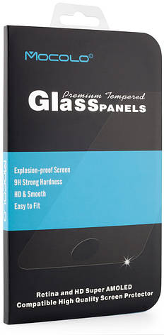 Захисне скло Mocolo для Huawei P Smart Plus - Full Glue Glass Чорні рамки, фото 2