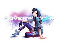 Картина GeekLand Overwatch Овервотч минимализм 60х40см OW.09.005
