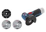 Аккумуляторная угловая шлифмашина Bosch GWS 12V-76 Professional, фото 4