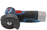 Аккумуляторная угловая шлифмашина Bosch GWS 12V-76 Professional, фото 5