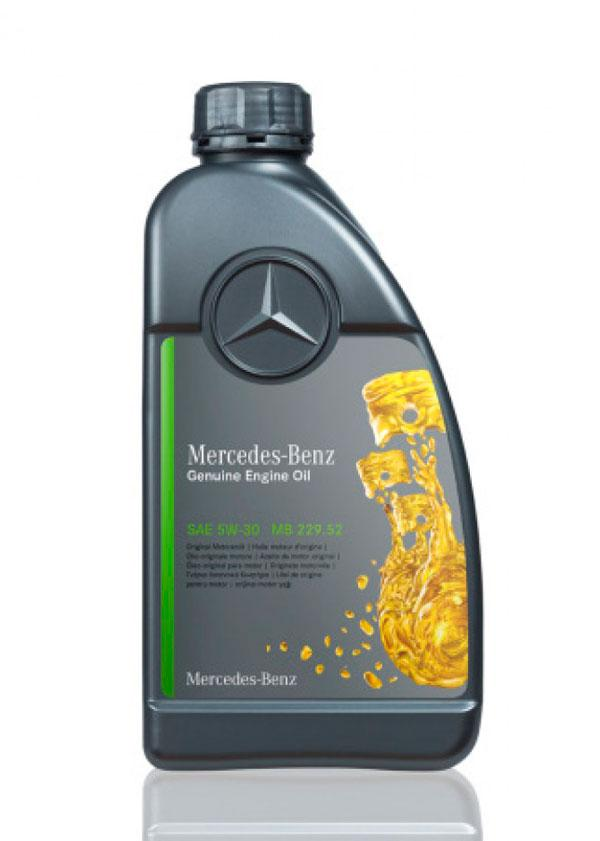Моторное масло Mercedes-Benz Engine Oil 229.52 5w-30 1л (A001989370110)